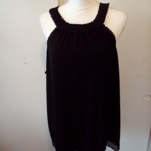 Maurice's black top size 2 Maurice sizing